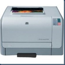 HP Color LaserJet CP1215 Color Laser printer - 12 ppm - 150 pages