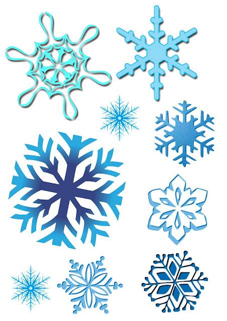 Dibujos del invierno for Estrella de nieve