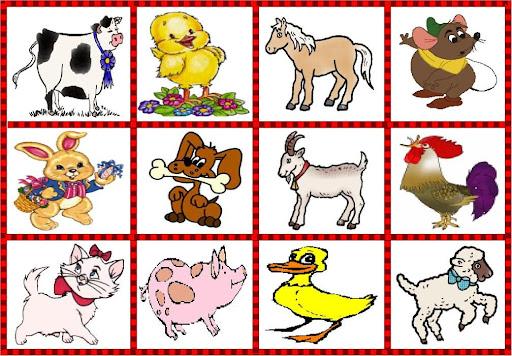 Dibujos animales domésticos para niños - Imagui
