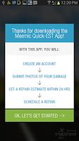 Screenshot of Meemic Quick Estimate Program