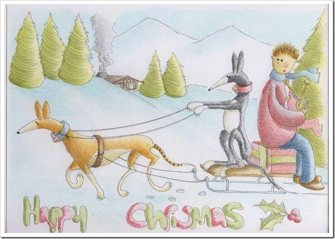 Xmas Greyhound 2009-1024