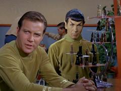 Kirk, Leslie, #7, Spock