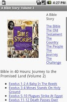 Screenshot of iBible Story: Volume 2