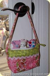 Mini purse present