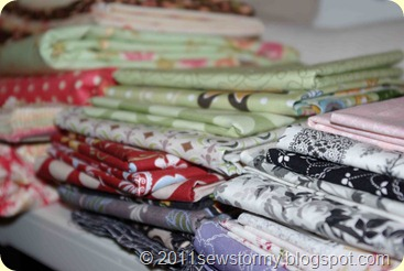 Fabric Stash Stacks