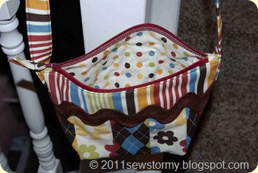 Birthday Purse, crafts, sewing