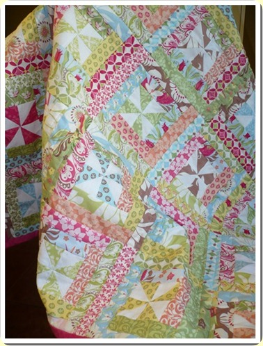 busy pinwheel quilt