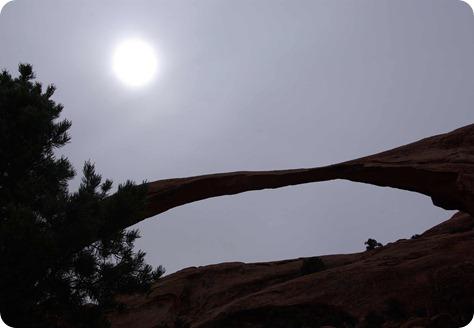 Sun over Landscape Arch 3