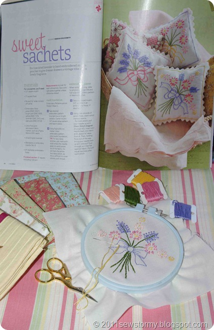 Sweet Sachet Stitchery