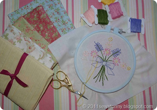 Cottage stitchery