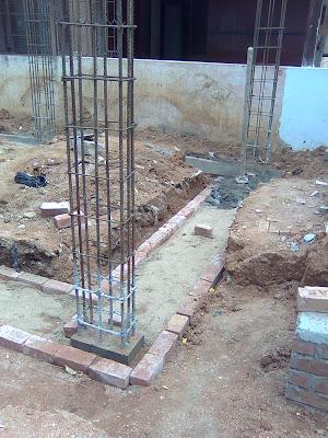Plinth beam