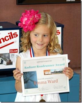 Emma's award