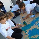 Alunos da Educação Infantil na Pintura.JPG