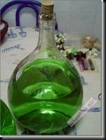 Garrafões decorados verde (12)