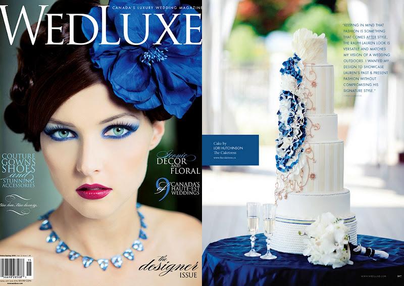 Wedluxe Magazine Ralph Lauren Cake, Wedding Cakes Wedluxe