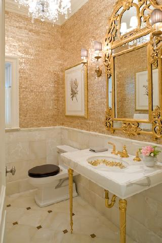 bathroom Featured: John Stefanon Interior Design