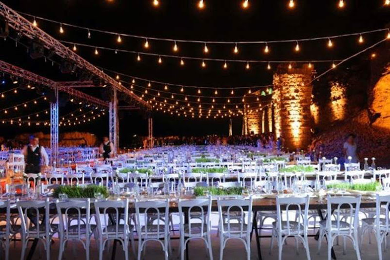 Beach wedding in lebanon