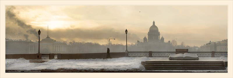 WINTER IN ST.PETERSBURG
