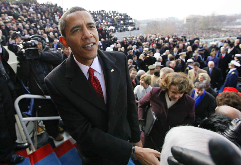 The Inauguration of President Barack Obama - Best Pictures - High Bandwidth usage