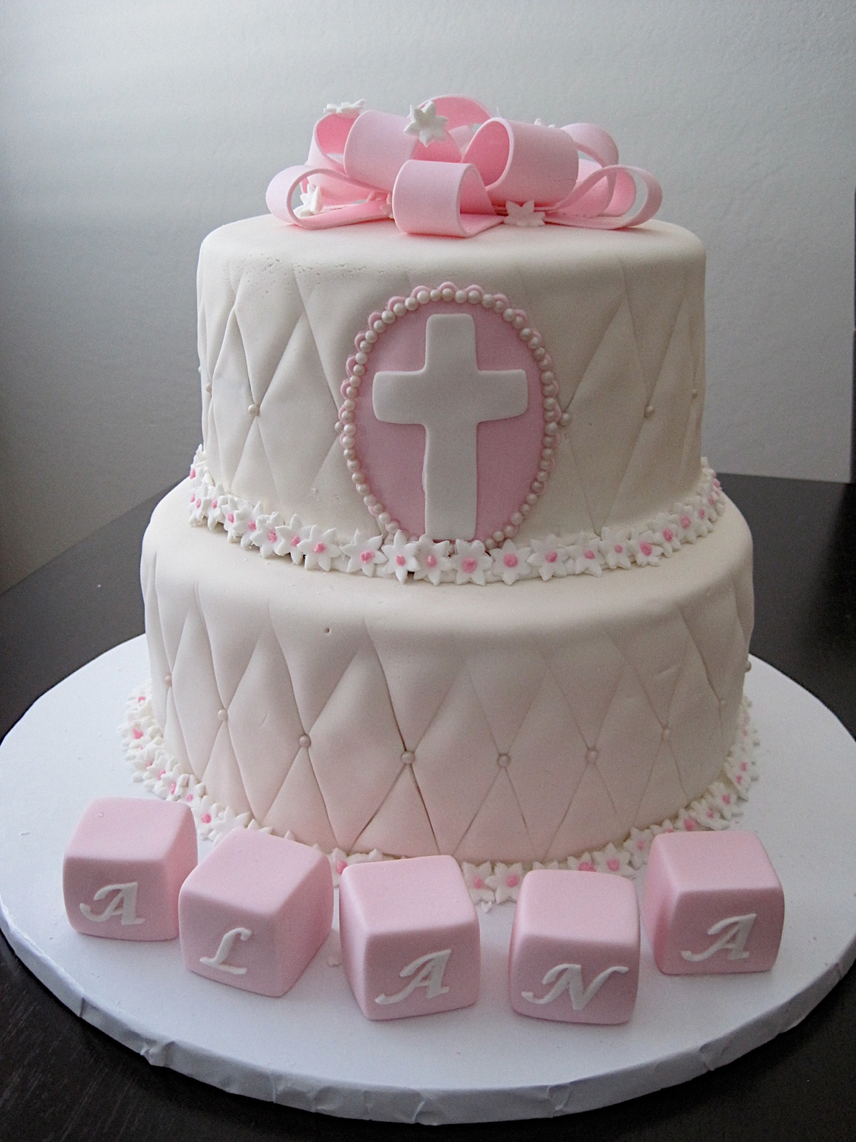 Fondant Cake For Baptism : Baptism Fondant Cake Car Interior Design