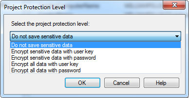 Denali SSIS project protection options