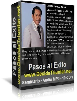 PASOS AL EXITO, Dr. Eduardo Salazar [ Audioconferencia ] – Pasos sólidos y poderosos, sobre las bases para alcanzar el éxito y construir riqueza.