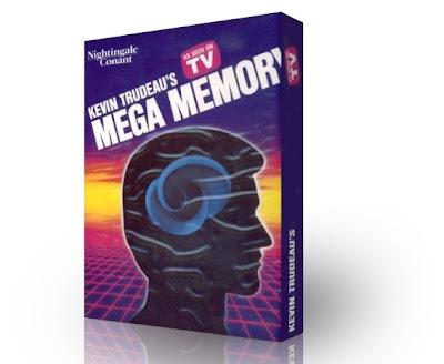 MEGA MEMORIA, Kevin Trudeau [ Curso en Audio + Libro Guía ] – El curso más completo para el Desarrollo de la Memoria a largo plazo.