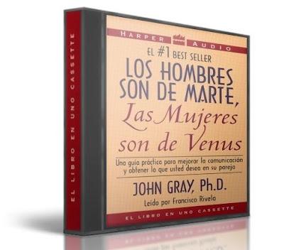 LOS HOMBRES SON DE MARTE, LAS MUJERES SON DE VENUS, John Gray [ Audiolibro + Libro ] – Cómo mejorar la comunicación y la relación en su pareja
