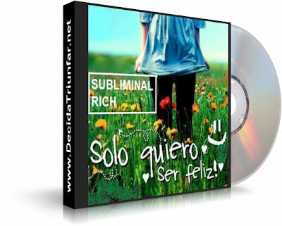 SER FELIZ, Subliminal Rich [ Audio CD ] – Audio subliminal para sentirse bien y ser feliz, superar el decaimiento y la tristeza.