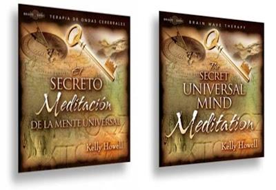 EL SECRETO, MEDITACION DE LA MENTE UNIVERSAL, Kelly Howell [ Audio CD ] – Haz que la ley de la atracción trabaje para ti, con meditaciones guiadas.