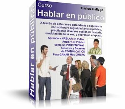 CÓMO HABLAR EN PÚBLICO, Carlos Gallego