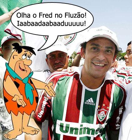 Esse é o Fred que o presidente conhece