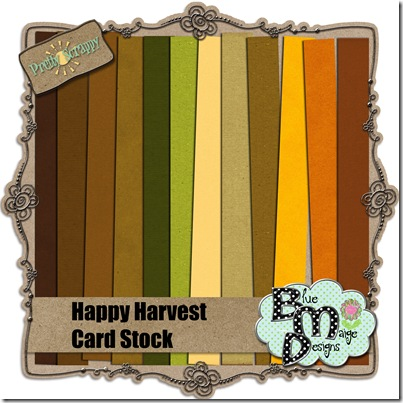 PS Happy Harvest Cardstock