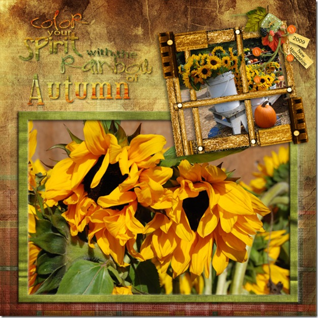 Donna Duncombe for partial word art Farm Fresh kit by Late Night Scraps