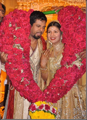 7 Rambha grand reception pictures