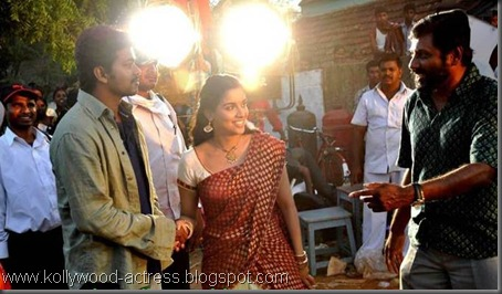 Vijay's Kavalkaran on location