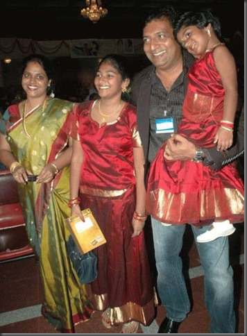 Prakash Raj&#8217;s family