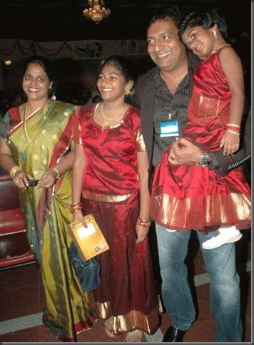Prakash Raj's family