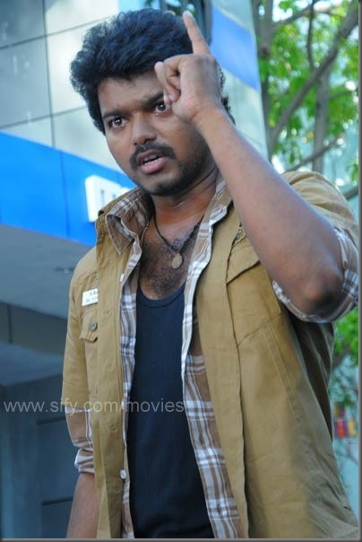 1 Vijay's latest vettaikaran stills