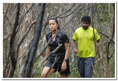 Karthi,Andrea,Reema Sen Aayirathil Oruvan movie stills