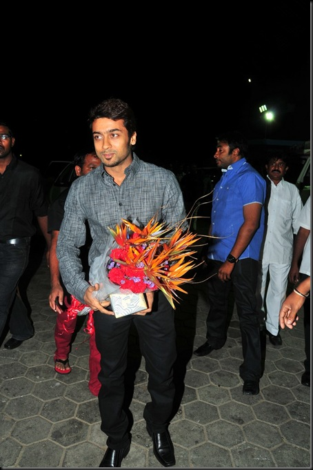 Suriya at Allu Arjun's wedding stills1
