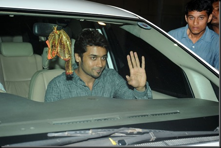 Suriya at Allu Arjun's wedding stills7