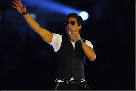 Shriya and Bollywood star Shahrukh set the stage on fire