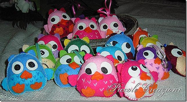 gufetti feltro felt cuties