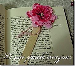 segnalibro fiore feltro
