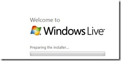 start installing windows live writer