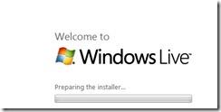 start installing windows live writer