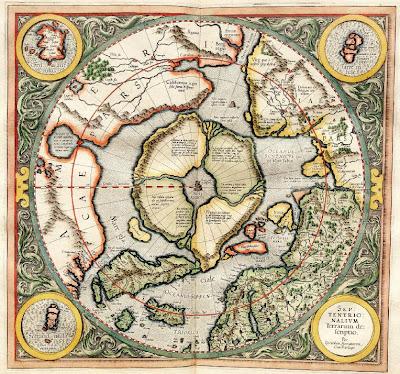 Даария (Карта Герарда  Меркатора)