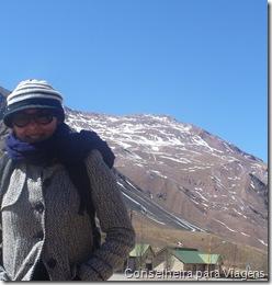 eu na Puente del Inca