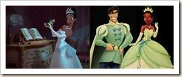 a princesa e o sapo duas versões